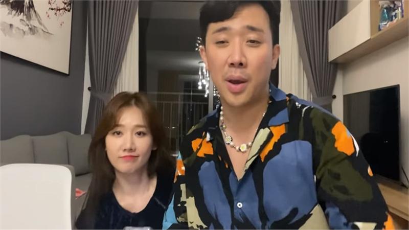 Cover 'Khác biệt to lớn', Hari Won trổ tài song ngữ, Trấn Thành liên tục 'bắn' rap 'Bigcityboi'