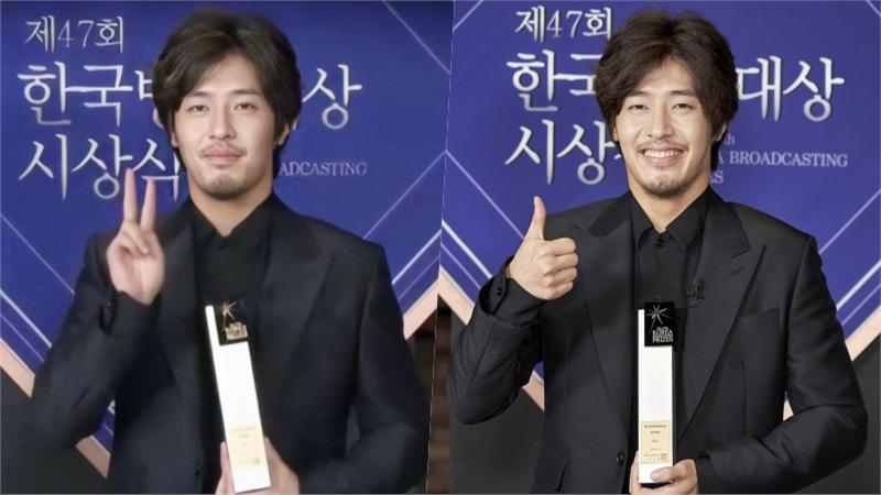 Kang Ha Neul thắng giải Best Actor, nhưng netizen chỉ quan tâm đến bộ râu xuề xoà: 'Anh đã sai gì để ra nông nỗi này?'