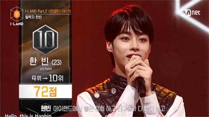 Hanbin (Ngô Ngọc Hưng) bất ngờ bị loại khỏi show sống còn tìm kiếm 'BTS thứ 2'