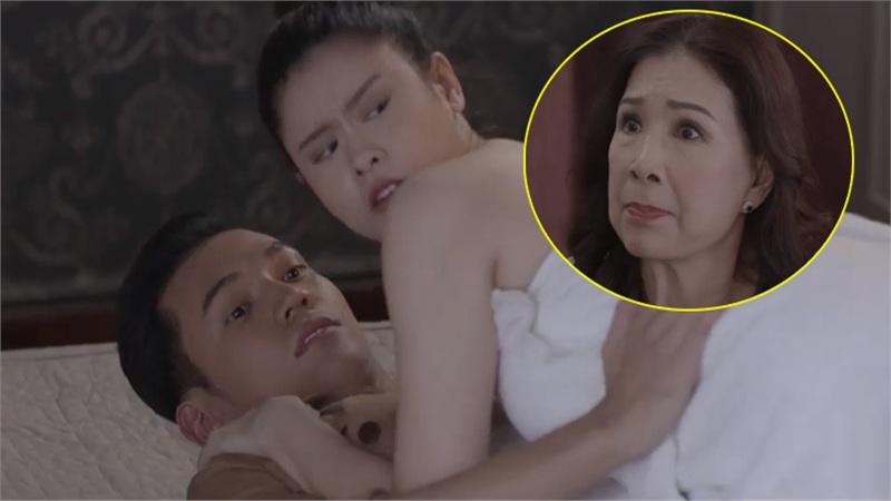 Phim thế sóng 'Tình yêu và tham vọng' tung trailer tập 1: Trương Quỳnh Anh 'muối mặt' bị NSND Kim Xuân 'bắt gian' tại trận