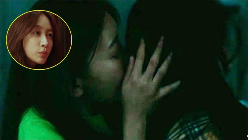 Fan sốc khi Hani (EXID) hôn gái đắm đuối, hút thuốc, đánh người không ghê tay trong trailer phim mới