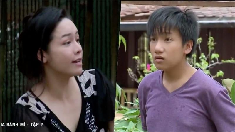 'Vua bánh mì' tập 2: Con trai Nhật Kim Anh lớn tướng vẫn tè dầm, bị mẹ đuổi đánh khắp xóm