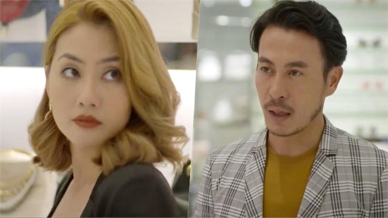 'Trói buộc yêu thương' tập 6: Đi shopping với vợ 'mặt nặng như chì', vừa thấy tình cũ, mắt Trương Thanh Long đã sáng như sao