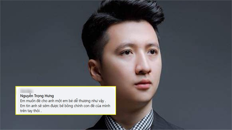 Trọng Hưng bất ngờ được fan cuồng làcô giáo mầm non bày tỏ 'em muốn sinh con cho anh'