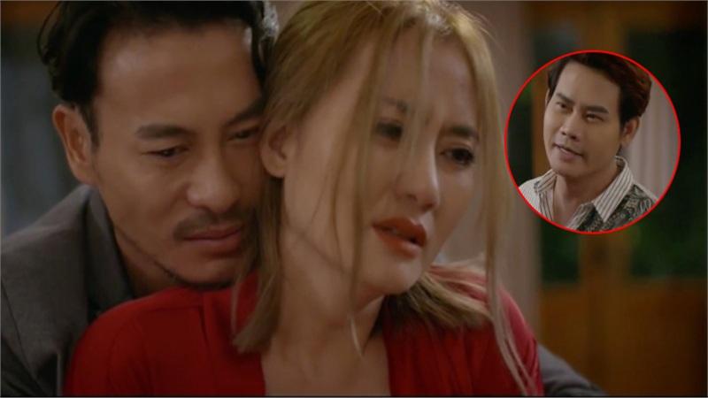 'Trói buộc yêu thương' tập 11: Ôm chầm Ngọc Lan, Trương Thanh Long suýt bị chồng sắp cưới của tình cũ đấm 'lệch mặt'