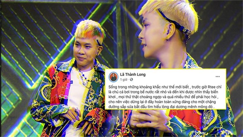 RTee: Thi 'Rap Việt' mới thấy mình quá nhỏ bé, bị loại là xứng đáng