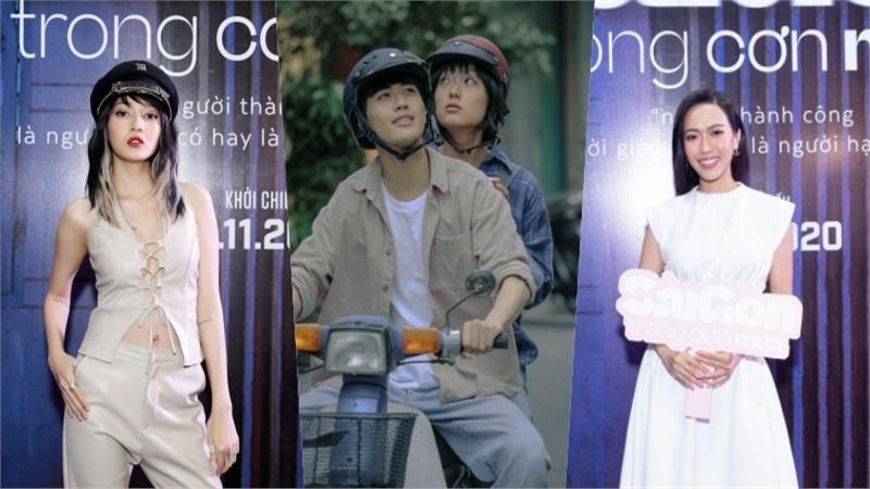 'Sài Gòn trong cơn mưa' chiếm trọn tình cảm của sao Việt và khán giả ngay buổi ra mắt