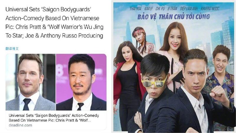 Hollywood remake phim hài 'Vệ sĩ Sài Gòn' của Thái Hòa