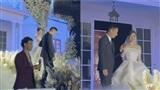 Đám cưới Á hậu Tường San: Xuân Bắc làm MC, xúc động khoảnh khắc cha dẫn con gái vào lễ đường