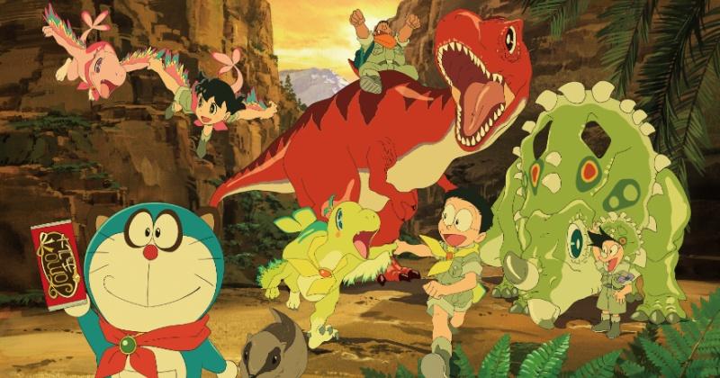 Ngược dòng thời gian trở về kỷ nguyên khủng long với 'Phim Doraemon: Nobita và những người bạn khủng long mới'