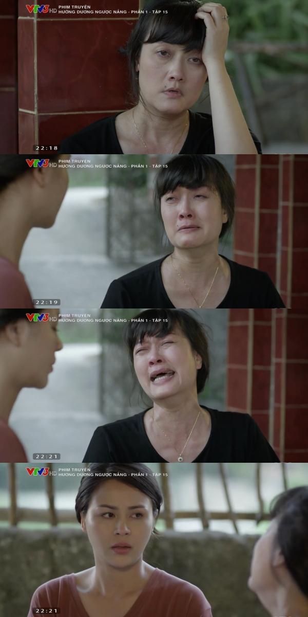 'Hướng dương ngược nắng' tập 15: Vân Dung chết lặng khi biết người đứng sau tất cả, lừa dối mình chính là con gái Lương Thu Trang 4
