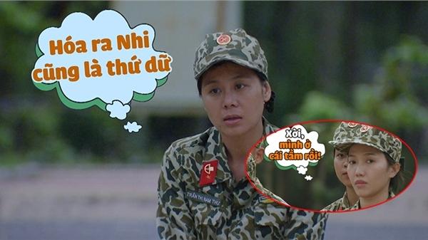 'Sao nhập ngũ' tập 7: Diệu Nhi khiến Nam Thư phải 'ngả mũ thán phục' vì 'quá dữ'