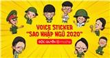Bộ sticker 'Sao nhập ngũ 2020' siêu đáng yêu, dự kiến hot rần rần với độ phủ sóng cao