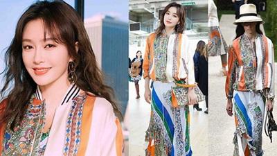 Đẳng cấp nhan sắc của 'Phú Sát Hoàng hậu' Tần Lam: Diện nguyên cây đồ như người mẫu nhưng không hề 'lép vế'