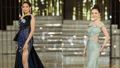 Thí sinh liên tục vướng tà, suýt vấp ngã tại chung khảo Miss World Việt Nam 2019 phía Nam