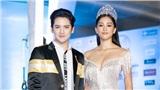 Chung kết Miss World Vietnam 2019: Hoa hậu Tiểu Vy khoe vòng một căng đầy sánh vai mỹ nam Thái trên thảm đỏ