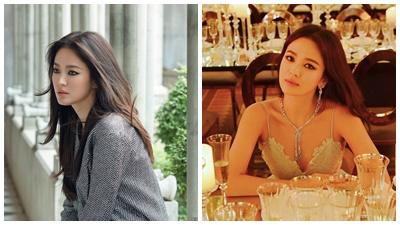 Sau đổ vỡ hôn nhân, dường như Song Hye Kyo đã 'phải lòng' kiểu trang điểm mắt đậm này rồi!
