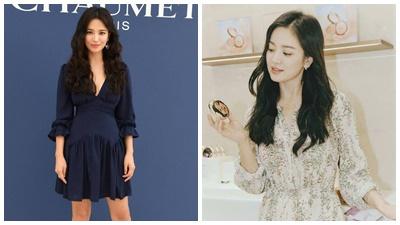 'Bắt mạch' 2 mẹo 'hack dáng' hay ho của Song Hye Kyo qua phong cách thời trang dự sự kiện