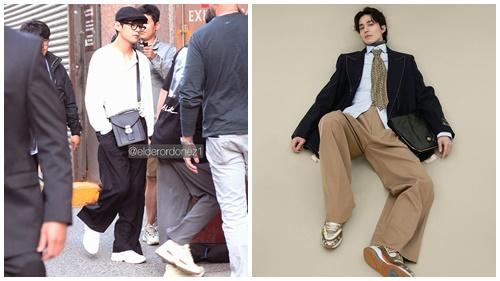 Style thời trang 'ông già' đang 'lấy lòng' loạt sao nam Hàn, tưởng không đẹp mà đẹp không tưởng