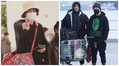 Dàn sao Running Man chính thức khởi hành sang Việt Nam, Lee Kwang Soo mang túi 'siêu to khổng lồ' cực dễ thương