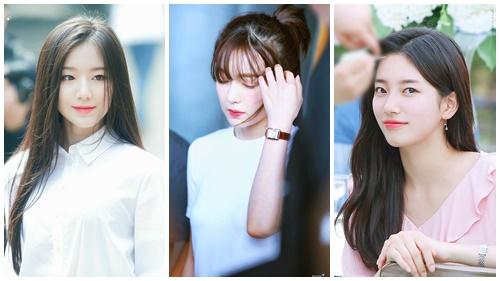 5 gương mặt được netizen bình chọn có nhan sắc thuần khiết nhất,nhìn lại mới thấy các Idol đều có kiểu makeup 'ruột'