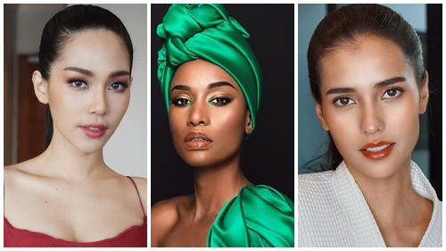 Hoa hậu Quốc tế, Hoa hậu Hoàn vũ, Hoa hậu Siêu quốc gia cùng đọ sắc trong 1 bức ảnh: Ai là người tỏa sáng nhất?