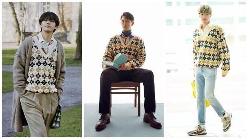 Chiếc áo được hội mỹ nam Hoa - Hàn cực ưu ái: Kai, Lý Hiện 'chanh sả' nhưng mix đồ vẫn không 'cao tay' bằng Lee Min Ho
