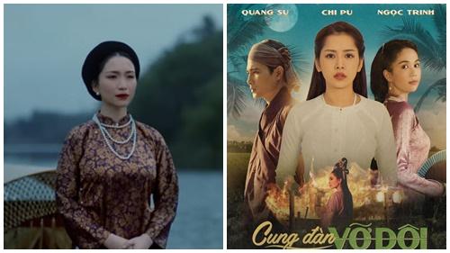 Vừara lò'Cung đàn vỡ đôi' của Chi Pu đã bị 'chỉ điểm' trông hao hao vài cảnh MV của Hòa Minzy