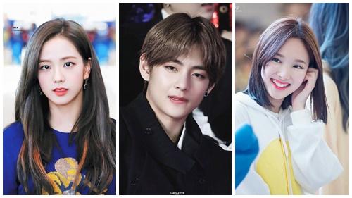 Tình hình netizen xứ Hàn dạo gần đây: Mê mẩn visual V (BTS), Nayeon (Twice) và Jisoo (Black Pink) 'như điếu đổ'