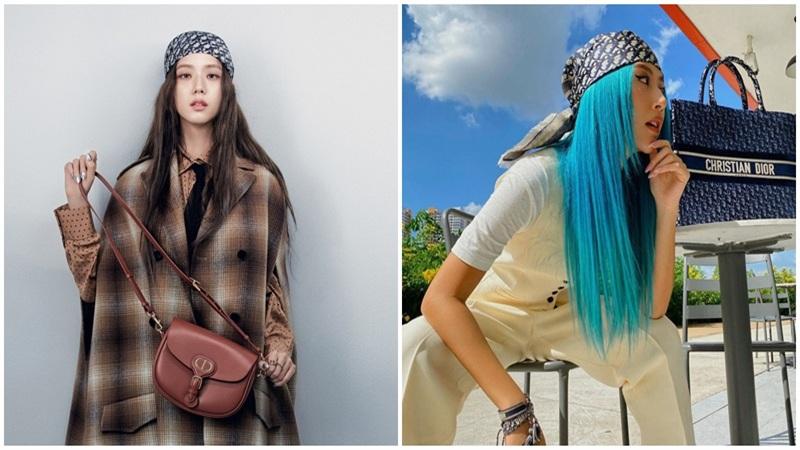 Phong cách quấn khăn 'chất phát ngất' được sao nữ Hàn - Việt 'lăng xê' ngập tràn mạng xã hội