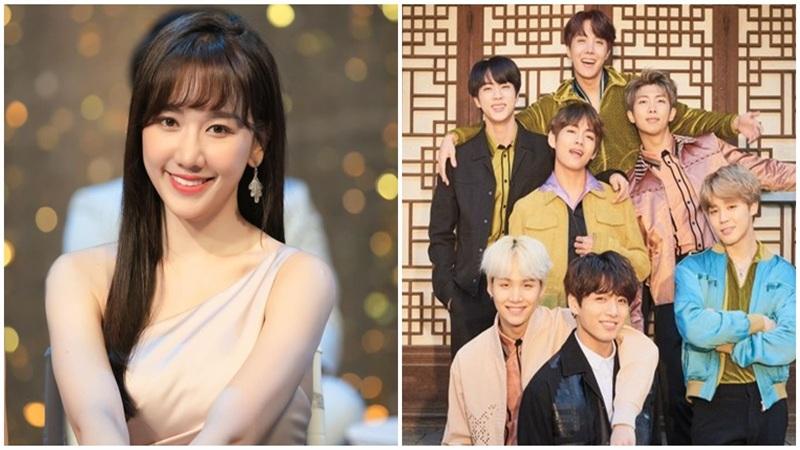 Hari Won 'kết nạp' vào hội sao Việt mê mẩn BTS, tự nhận là fan 'bà dì'