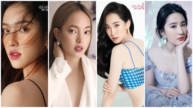 Loạt thí sinh HHVN 2020sở hữu nhan sắc giống người nổi tiếng: Từ Lưu Diệc Phi đến Jennie (BlackPink) đều có đủ