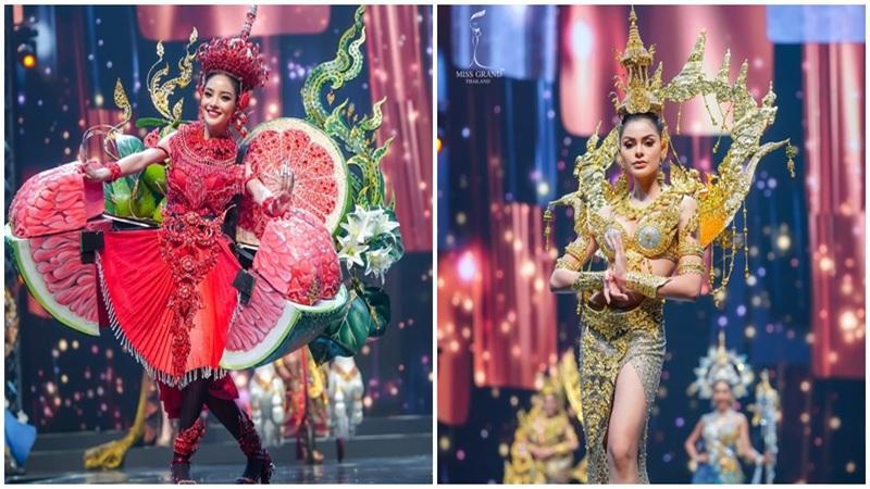 Quốc phục của chương trình Hoa hậu hot nhất Thái Lan không làm netizen thất vọng: Chọn một trong số này đủ 'chặt chém' nếu mang thi Quốc tế?
