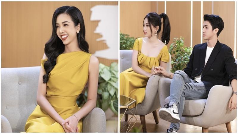Á hậu Thúy An lần đầu hé lộ'nửa kia' trên sóng truyền hình, cặp đôi Bình An - Phương Nga phát 'cẩu lương' ngọt lịm