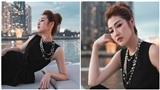 Á hậu Tú Anh khoe vẻ đẹp 'lão hóa ngược' trên du thuyền sang chảnh
