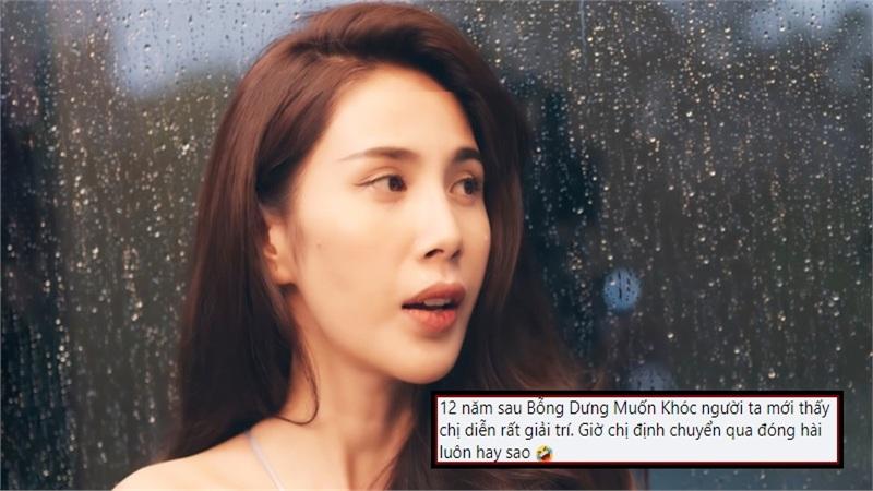Thủy Tiên lần đầu có MV lọt Top Trending nhưng không thể... 'hèn' hơn