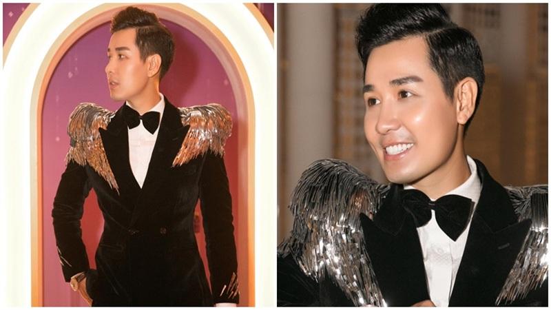MC Nguyên Khang 'nổi bần bật' với gu thời trang lạ mắt tại sự kiện toàn 'chân dài'