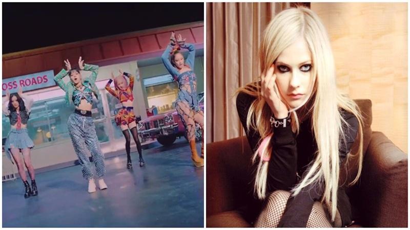 Black Pink học hỏi Avril Lavigne về loạt trang phục 'tả tơi' trong MV mới?