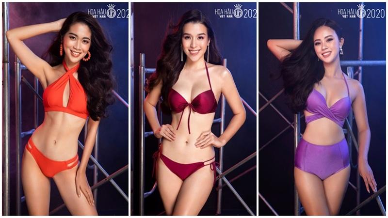 Top 60 Hoa Hậu Việt Nam 2020 diện bikini cực nóng bỏng 'đốt mắt' khán giả
