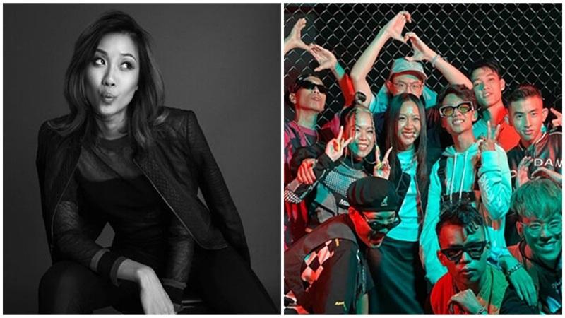 Không chỉ là nữ HLV duy nhất, Suboi còn là người đầu tiên thực hiện điều này tại 'Rap Việt'