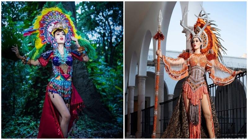Loạt trang phục truyền thống của Hoa hậu Mexico 2020 được netizen khen ngợi