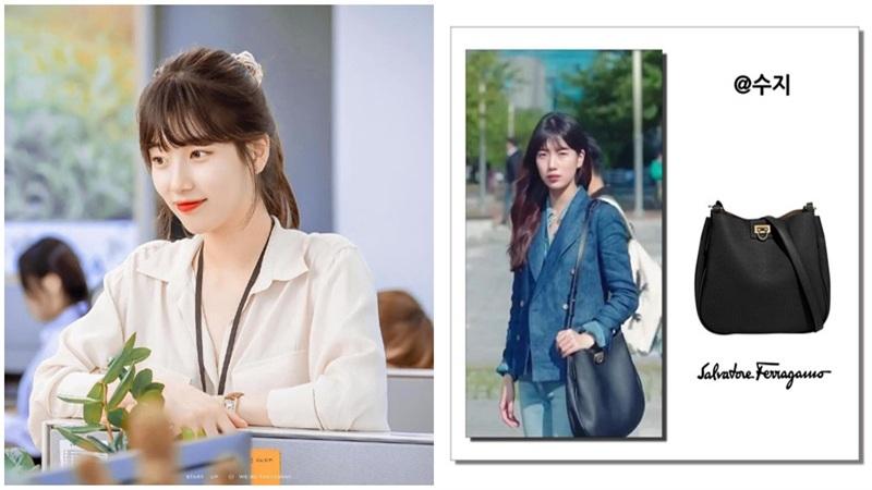 Phim mới của Suzy gây tranh cãi lớn: Vào vai 'nghèo rớt mồng tơi' nhưng dùng túi trăm triệu