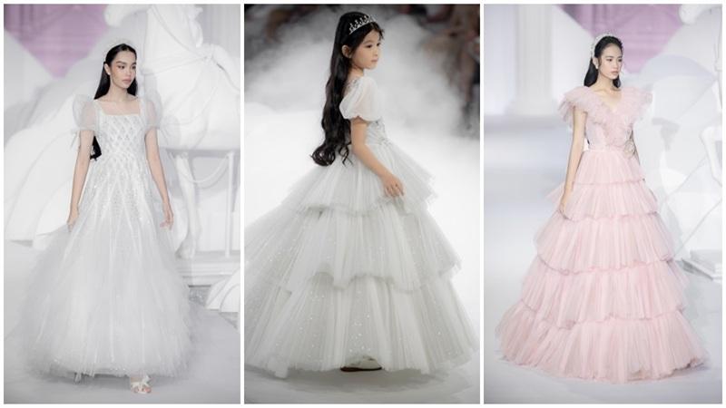 Dàn mẫu nhí xinh như công chúa, thần thái chuẩn người mẫu trong show diễn thời trang