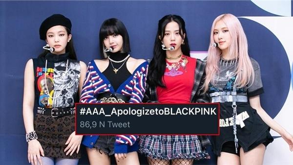 AAA tiếp tục 'gây hấn': Lấy thành tích của BlackPink 'gán' cho IZ*One, đúng chất lễ trao giải 'ồn ào' nhất năm