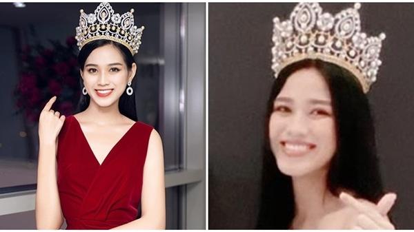 Gương mặt hốc hác của Hoa hậu Đỗ Thị Hà sau vài ngày đăng quang khiến nhiều người lo lắng