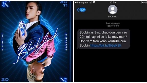 Thức dậy bỗng nhận được tin nhắn từ Soobin, netizen thấy 'là lạ' nhưng cũng 'hao hao' nước đicủa Sơn Tùng M-TP!