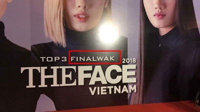 'Kém sang' như The Face Vietnam 2018: Backdrop sai chính tả, PR lộ liễu cho nhà tài trợ