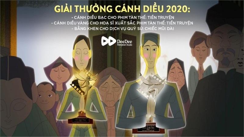 Cánh diều vàng nâng bước 'DeeDee' đến với ước mơ làm phim hoạt hình chiếu rạp và đưa hoạt hình Việt Nam ra thế giới