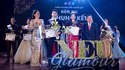 Cặp trai tài gái sắc xuất sắc đăng quang ngôi vị Nam vương - Hoa khôi Sinh viên thanh lịch NEU GLamour