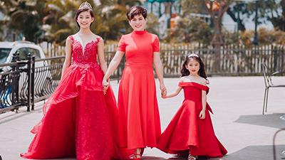 Hai ái nữ nhà họ Phạm trở thành Đại sứ từ thiện Anh quốc, được đề cử tham gia Mini Miss Diamond UK